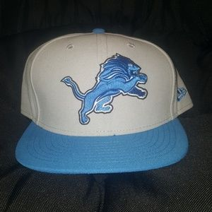 Detroit Lions Fitted New Era Hat | size 8
